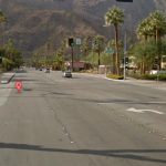 East Palm Canyon Drive at Camino Real intersection