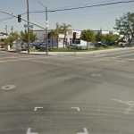 Location of Pedestrian Accident involving David Beltran