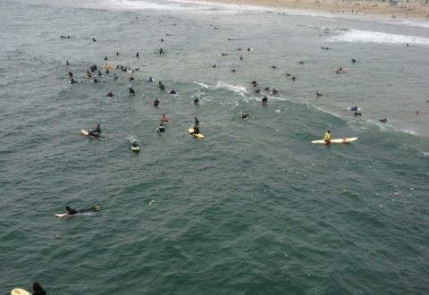 Manuel Collision Center >> Kelly Morehouse Memorial Paddle Out in Huntington Beach