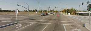 Perris Boulevard at San Michele Road in Moreno Valley
