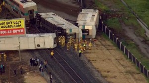 Metrolink Train Derailment in Oxnard